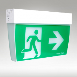 eco rapid led emergency exit sign